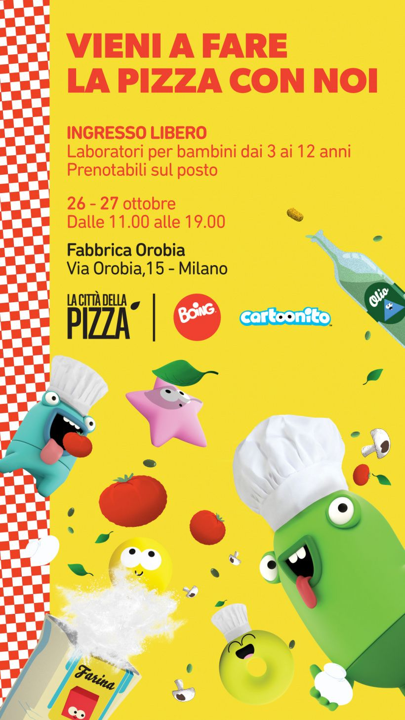 Partecipa a La città della pizza