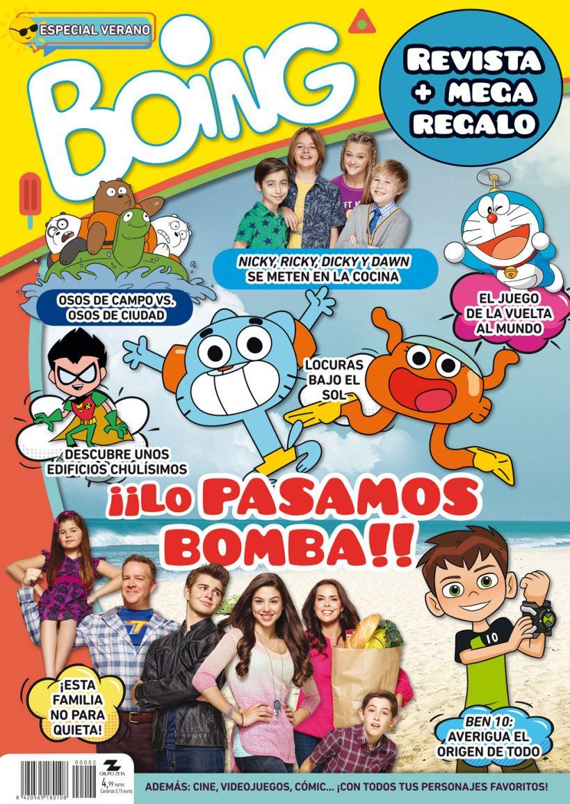 Revista Boing - Especial Verano