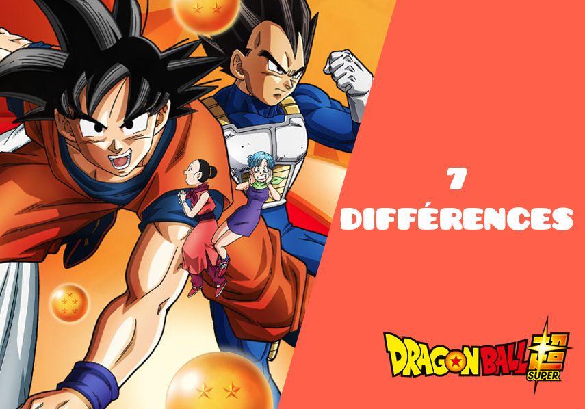 7 différences