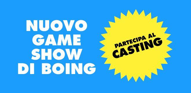 Partecipa al nuovo Casting