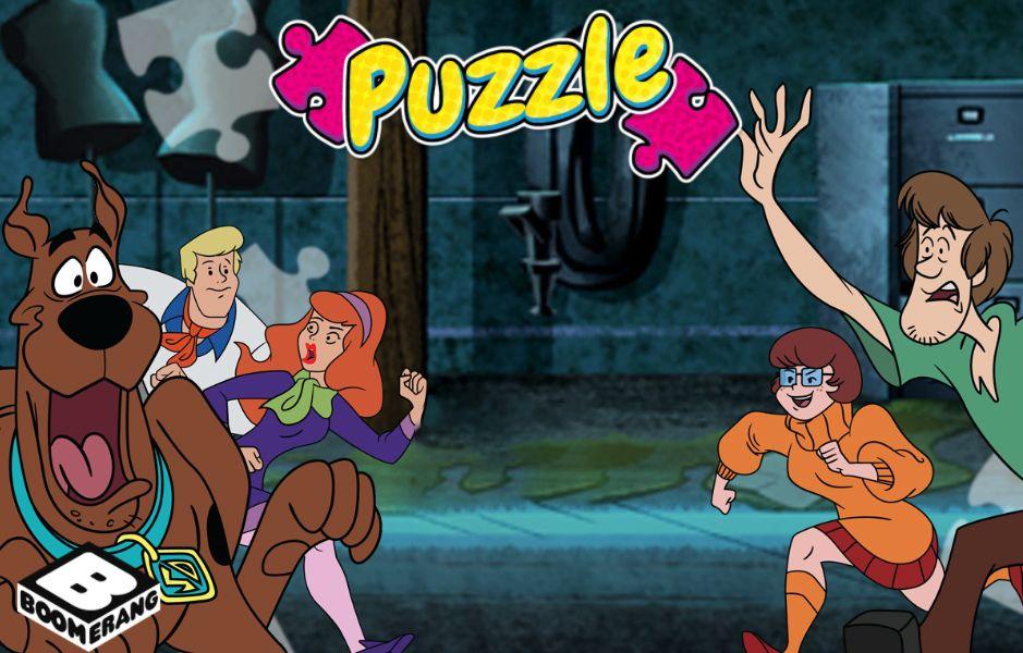 Puzzle Scooby-Doo et compagnie
