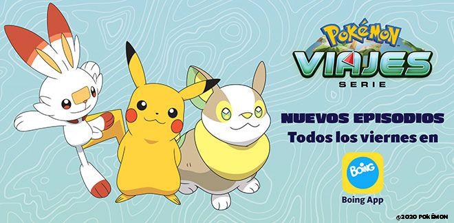 La serie Viajes Pokémon
