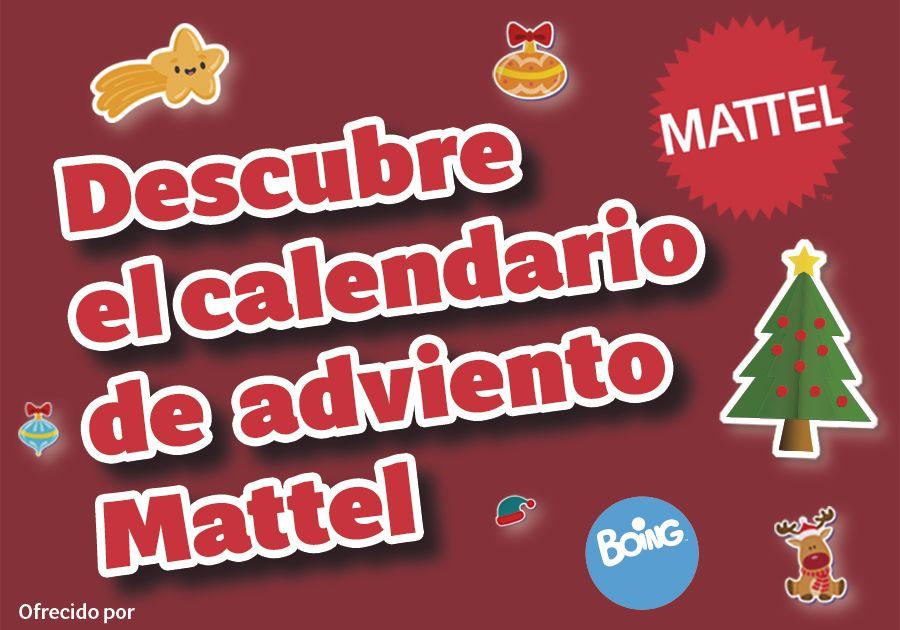 Calendario de Adviento Mattel