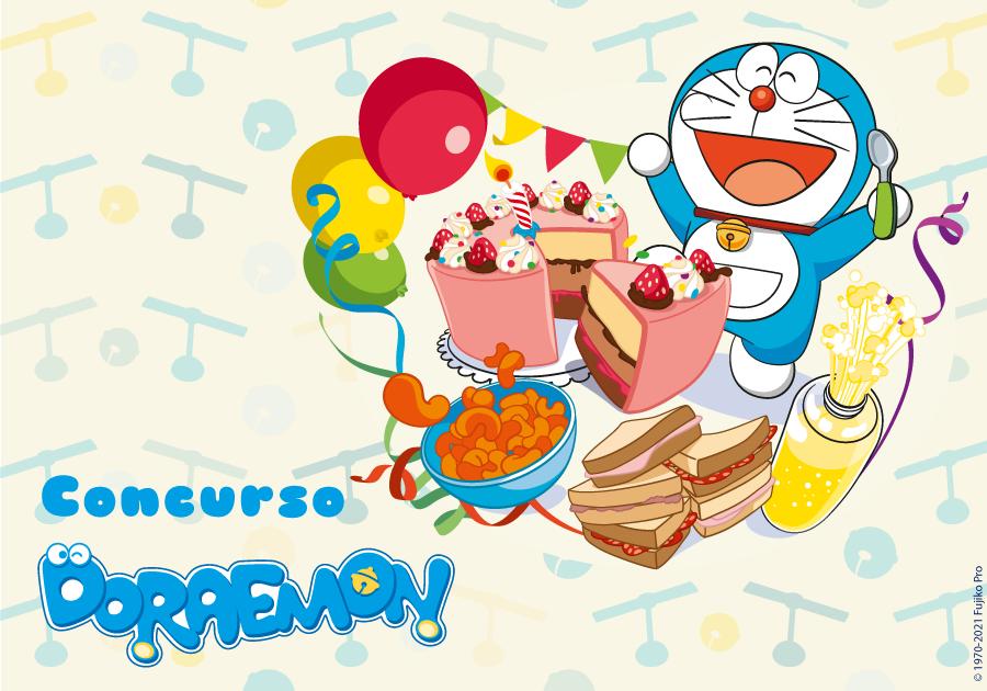 Concurso 10º Aniversario de Doraemon en Boing
