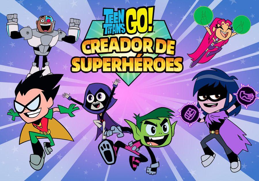 Teen Titans Go! - Creador de Superhéroes
