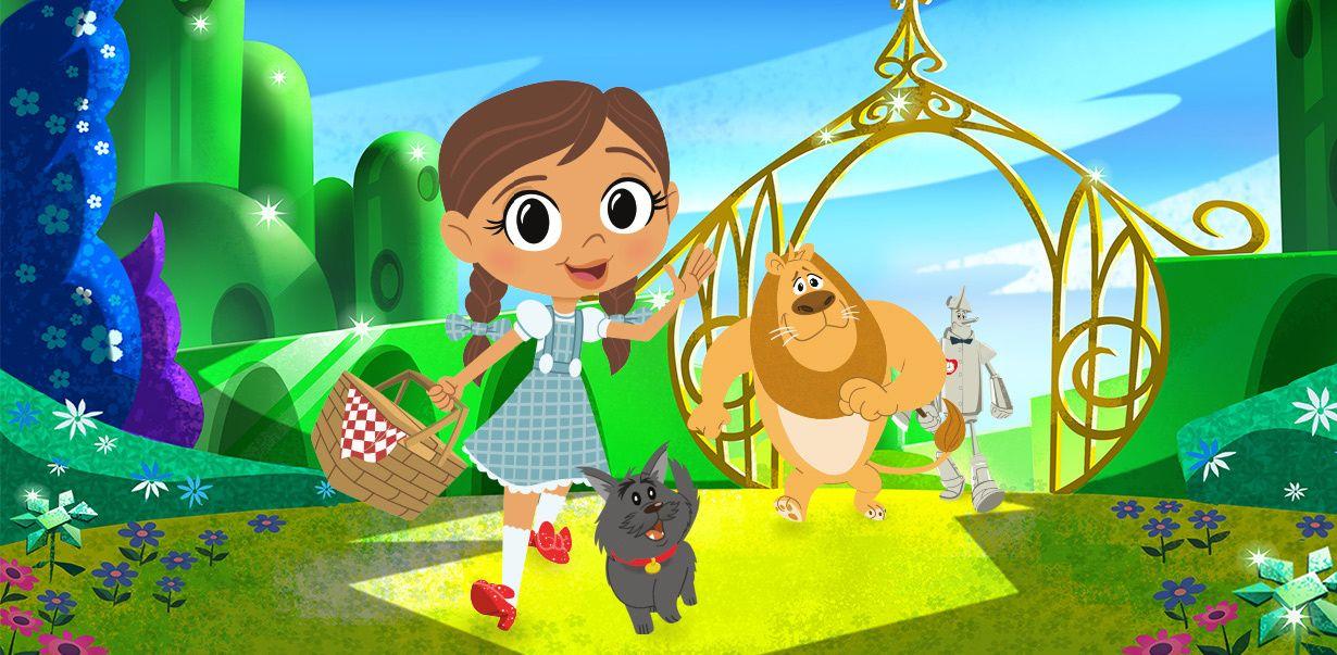 Le Magicien D Oz Dorothy Et Ses Amis Jeux Vidéos Et