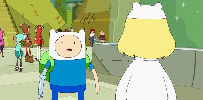 Finn incontra sua madre - Adventure Time