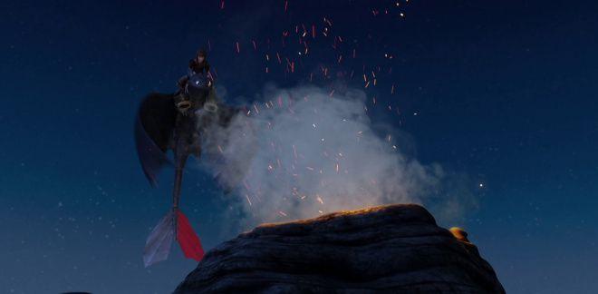Il vulcano - Dragons