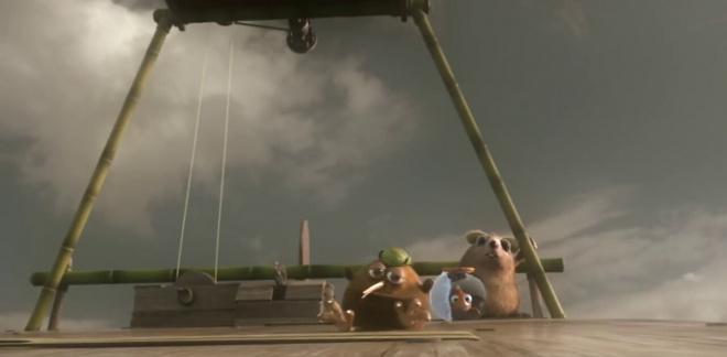 Anniversaire en montgolfière  - Les As de la Jungle