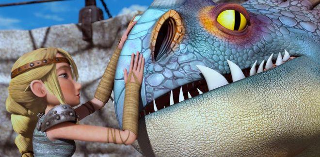 Les meilleurs moments d'Astrid - Dragons