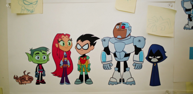 Cómo dibujar a los Teen Titans - Manos a la obra