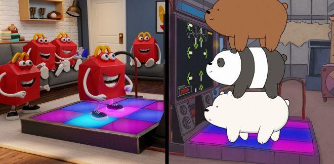 Scopri Grizzy, Panda e Orso Bianco nell'Happy Meal di Mc Donalds - We Bare Bears