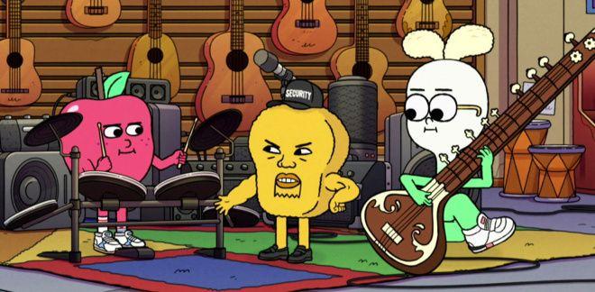 La tienda de música - Manzana y Cebolleta