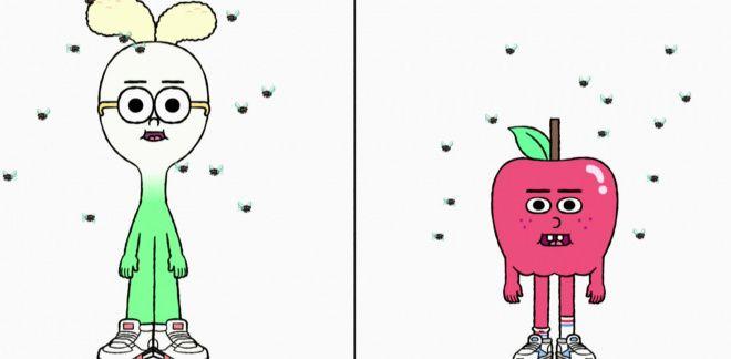 Moscas - Manzana y Cebolleta