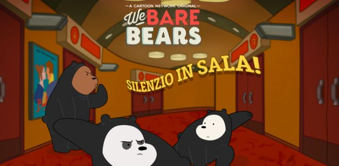 We Bare Bears - Silenzio in sala!