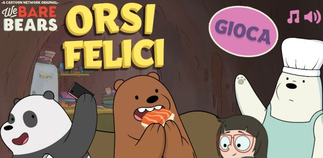 We Bare Bears - Orsi felici
