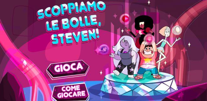 Steven Universe - Scoppiamo le bolle Steven!