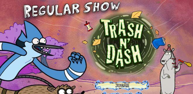 Trash N' Dash - Juego de Historias Corrientes