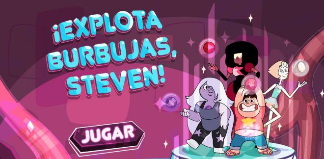 ¡Explota burbujas, Steven! - Steven Universe