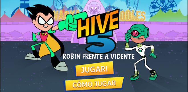 Robin Vs Vidente - Juego de Teen Titans Go!