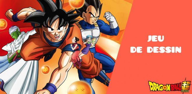 Jeu de dessin Dragon Ball Super