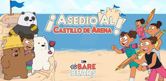 Somos osos - ¡Asedio al castillo de arena!