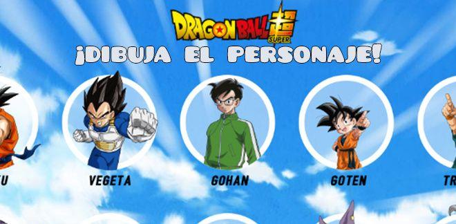 Dragon Ball Super - ¡Dibuja el personaje!
