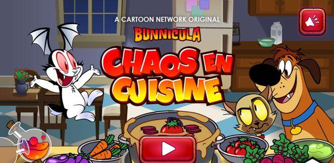 Chaos en cuisine - Jeux Bunnicula