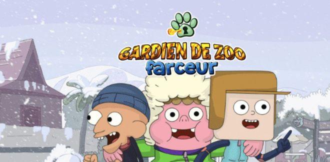Amuse-toi au zoo avec Clarence et ses amis !