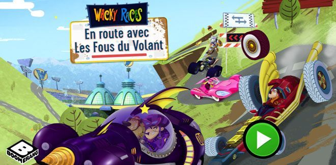 En route avec Les Fous du Volant | Jeux Les Fous du Volant | Boing TV