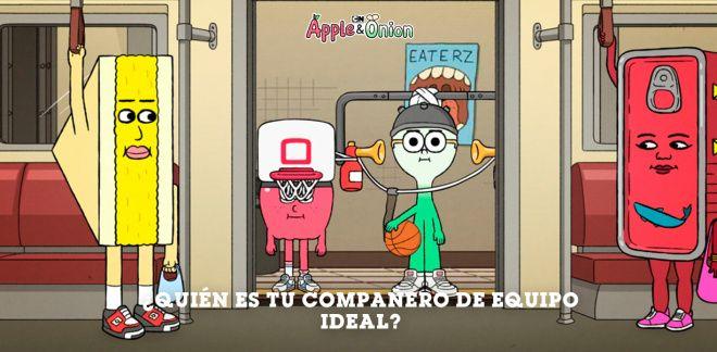 Manzana y Cebolleta - ¿Quién es tu compañero de equipo ideal?