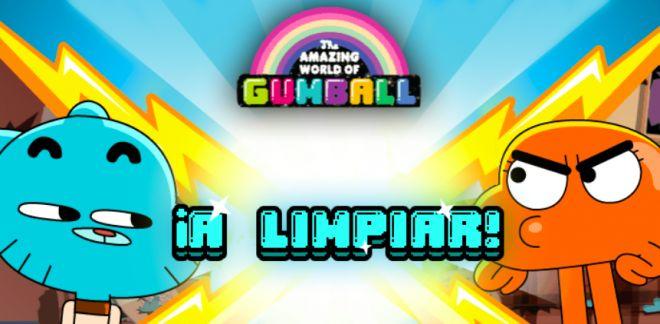 Gumball - ¡A limpiar!