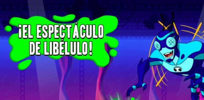 Ben 10 - ¡El espectáculo de Libélulo!