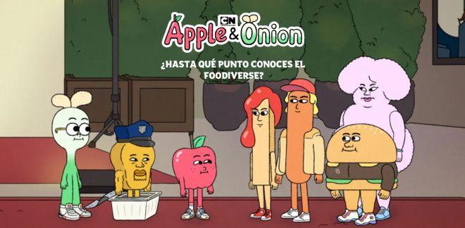 Manzana y Cebolleta - ¿Hasta qué punto conoces el Foodiverse?