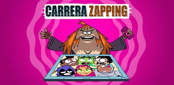 Teen Titans Go! - Carrera Zapping