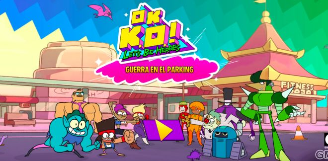 OK Ko - Guerra en el parking