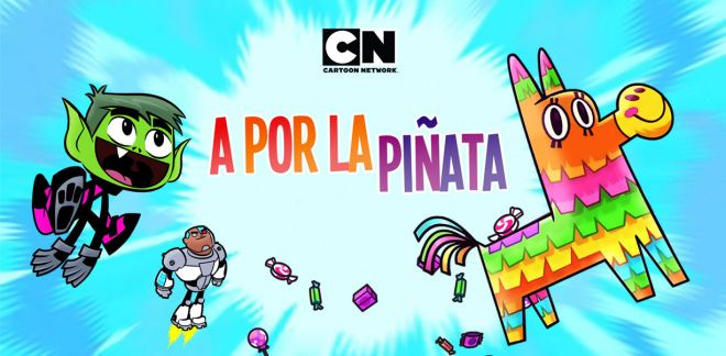 Teen Titans Go! - A por la piñata