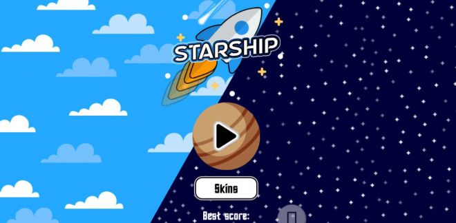 Game Cartoonito - Starship