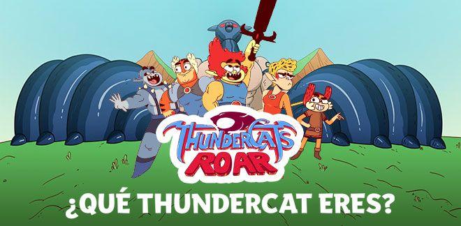 Thundercats Roar - ¿Qué Thundercat eres?