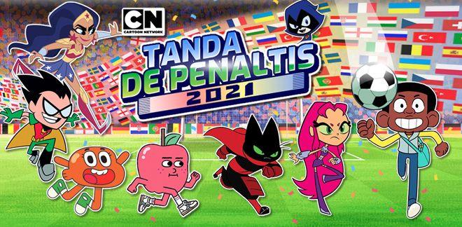 Tanda de penaltis - Teen Titans Go!