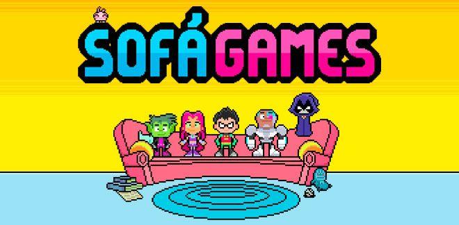 Sofá Games - Teen Titans Go!