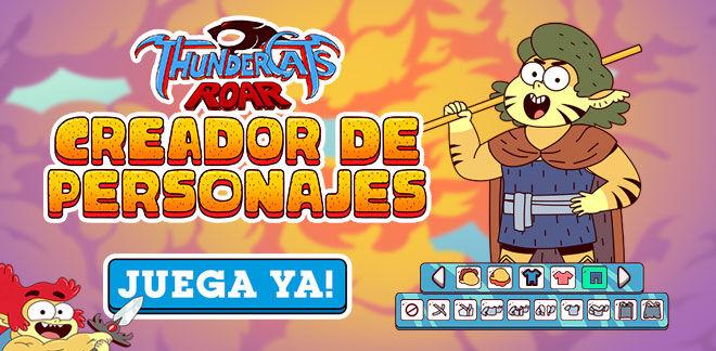 Thundercats Roar - Creador de personajes