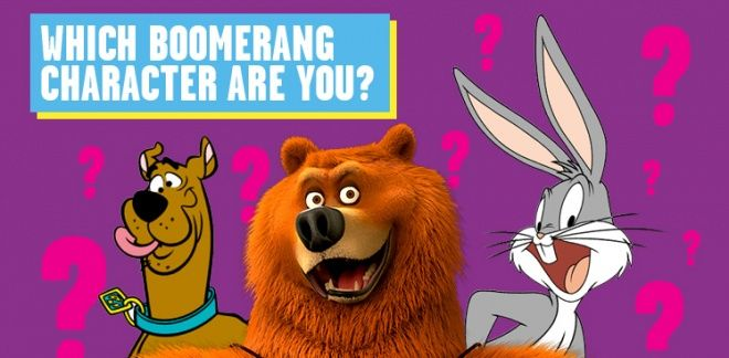 Which Boomerang Animal Character Are You?