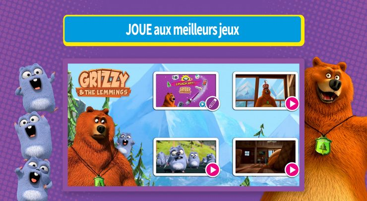 Boomerang L'heure des jeux - Captures d'écran  3