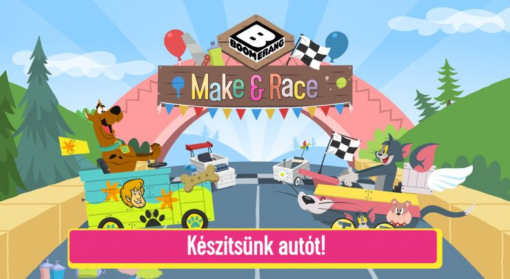Make and Race - Képernyőfelvételek 0