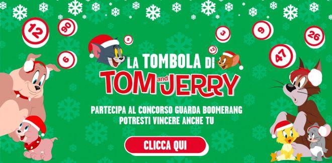 Partecipa al Concorso La Tombola di Tom & Jerry