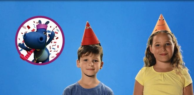 Chapeaux d'anniversaire