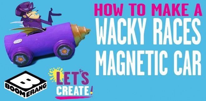 Wacky Races Magnetic Cars
