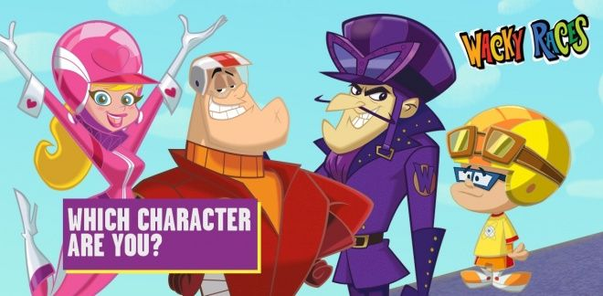 Which Wacky Races Character Are You?