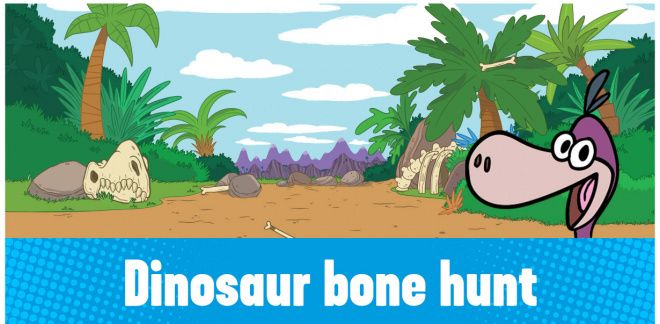 Can You Find The Dinosaur Bones?